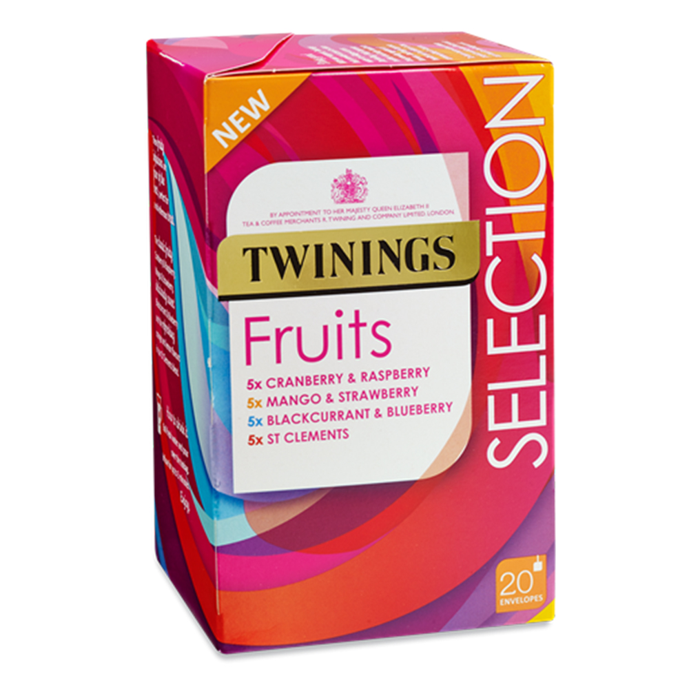 Twinings Fruit Selection 20's (4 Units)