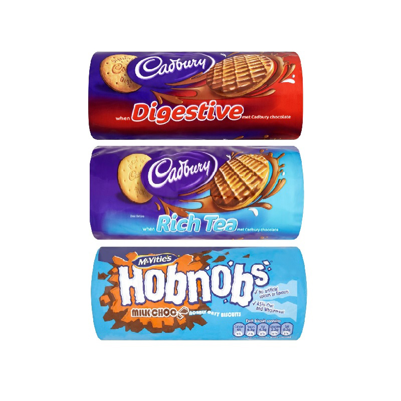 Various Brands 266g Chocolate Biscuits (1 Units)