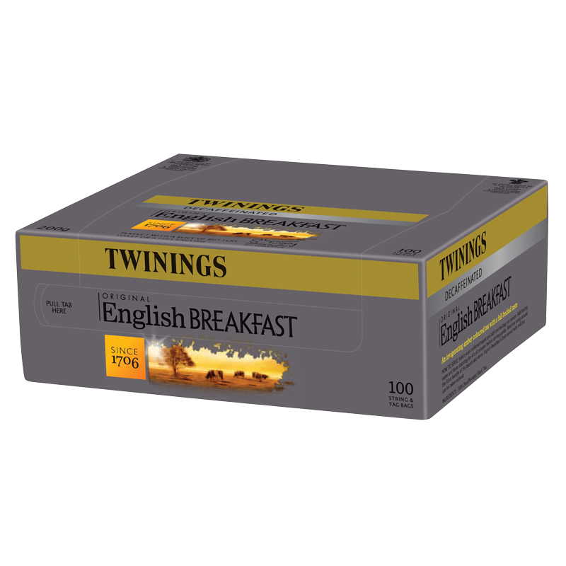 Twinings English Breakfast Decaf 100's (1 Units)