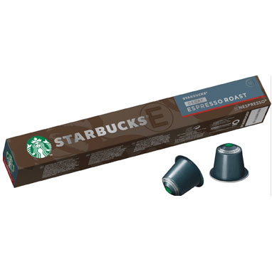 Starbucks Decaf Espresso Roast 10's (Nespresso Compatible Pods) (1 Units)