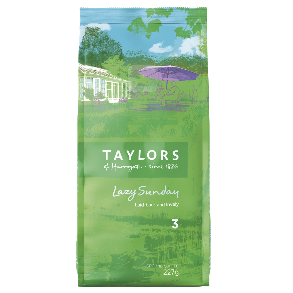 Taylors of Harrogate Lazy Sunday Coffee 227g (6 Units)