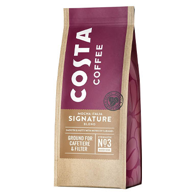 Costa Coffee RFA Signature Blend Ground Coffee 200g (1 Units)