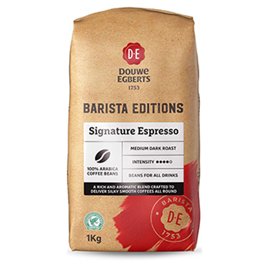 Douwe Egberts Barista Edition Signature Espresso Coffee Beans 1kg (1 Units)