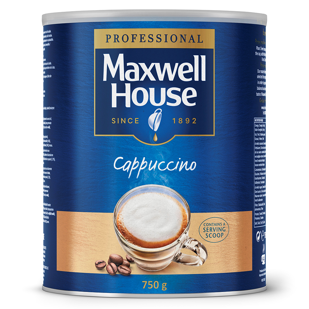 Maxwell House Cappuccino 750g (4 Units)