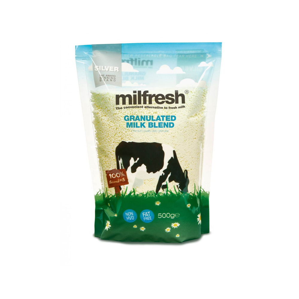 Milfresh Silver Skimmed Granulated Milk 500g (10 Units)