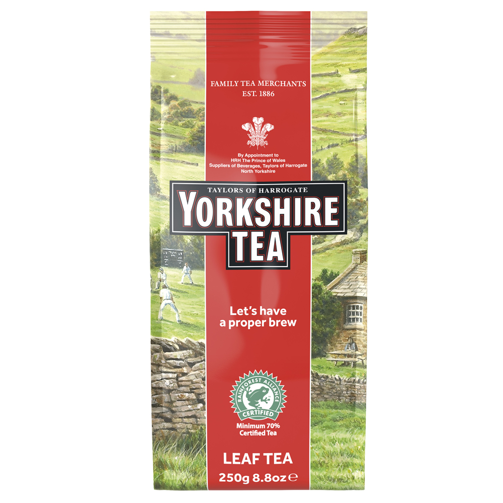 Yorkshire Tea Loose Leaf 250g (1 Units)