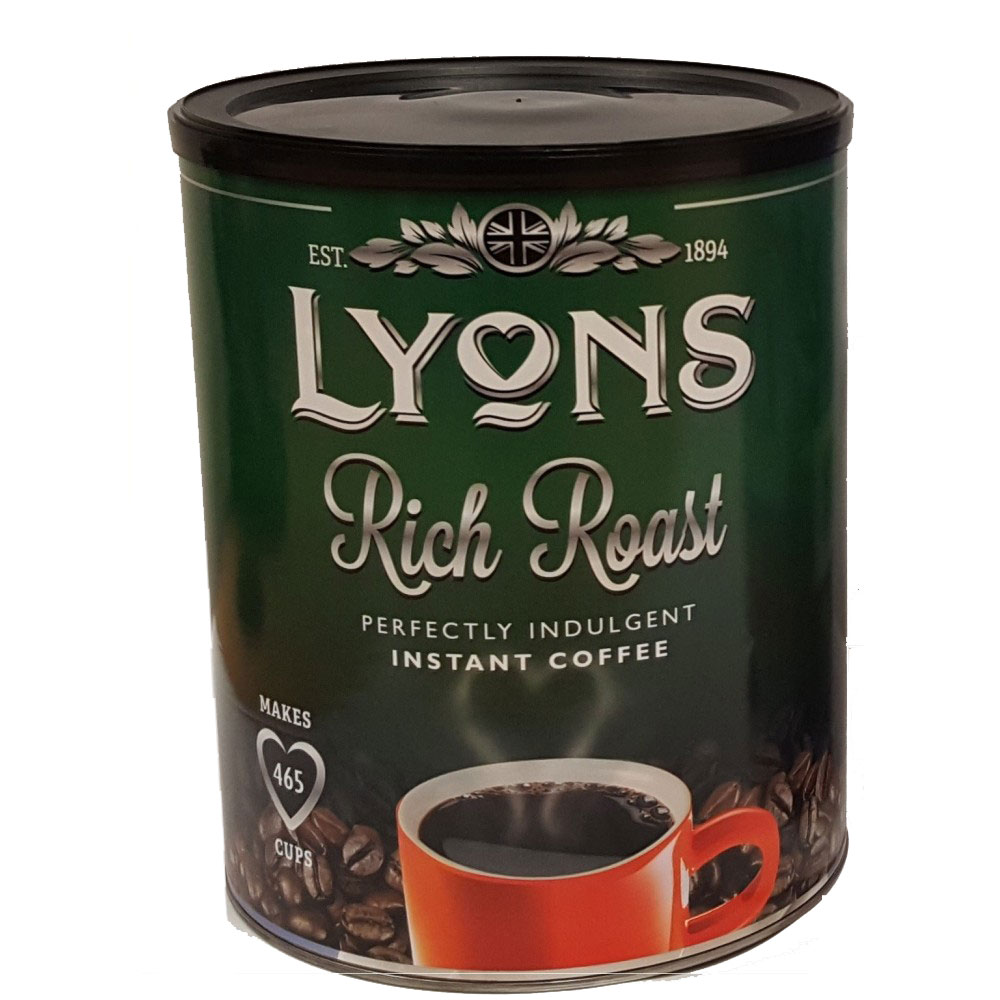 Lyons Rich Roast Coffee 750g (6 Units)