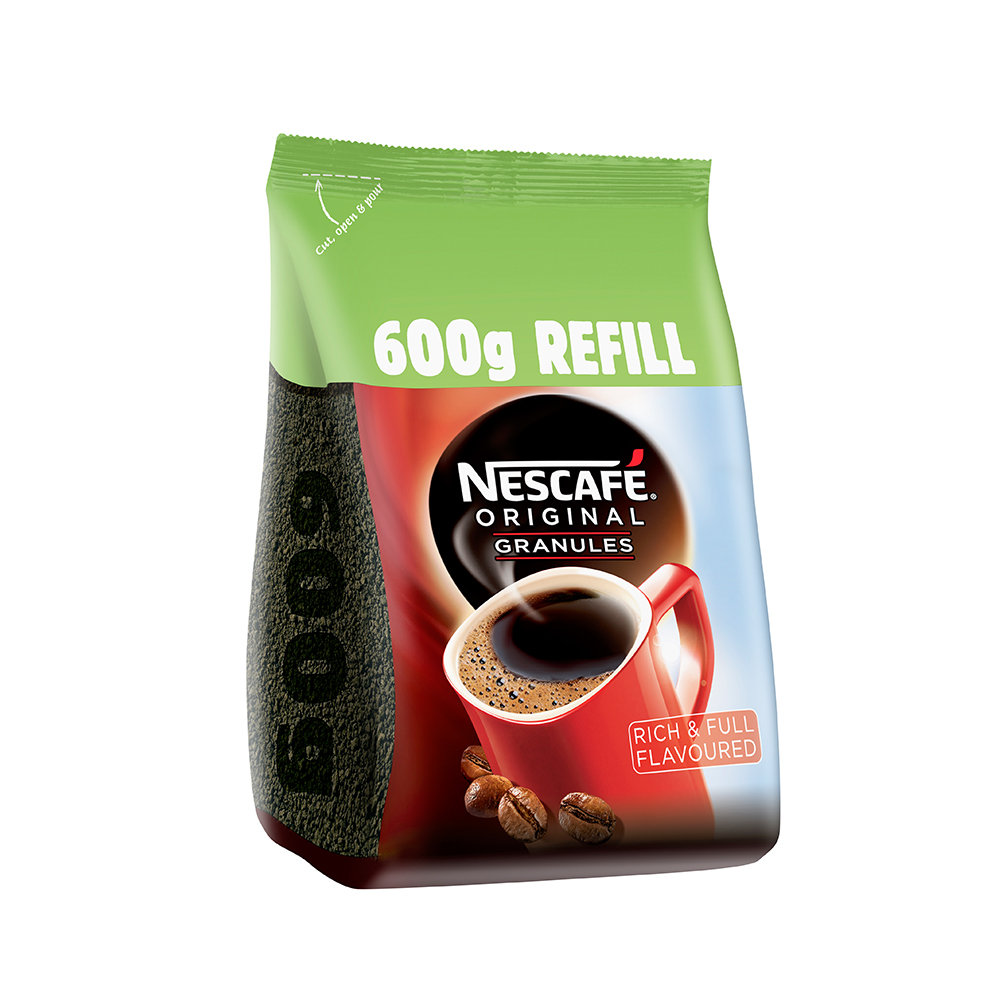 Nescafe Original Refill Pack 600g (6 Units)