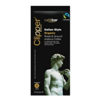Clipper Fairtrade Organic Italian Style Coffee 227g (1 Units)