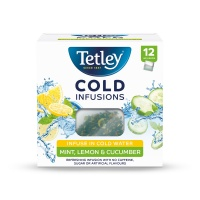 Tetley Cold Infusions Mint, Lemon & Cucumber 12's (1 Units)