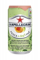 San Pellegrino Peach Iced Tea Cans 24x250ml (1 Units)
