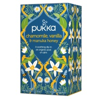 Pukka Tea Chamomile, Vanilla & Manuka Honey Envelopes 20's (1 Units)
