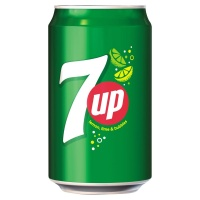 7-Up Lemon and Lime Carbonated Cans 24x330ml (1 Units)