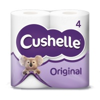 Cushelle Original Toilet Roll 4 Pack (1 Units)