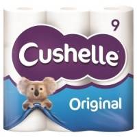 Cushelle Original Toilet Roll 9 Pack (5 Units)