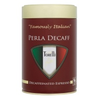 Caffe Torelli Perla Decaf Filter Coffee 250g Tin (1 Units)