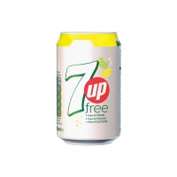 7up Sugar Free Cans 24x330ml (1 Units)