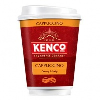 Kenco 2 Go Cappuccino (Sleeves of 8) (20 Units)