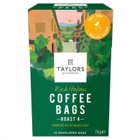 Taylors of Harrogate Rich Italian Coffee Bags Pack 10s (1 Units)