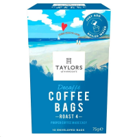 Taylors of Harrogate Decaf Coffee Bags Pack 10s (1 Units)