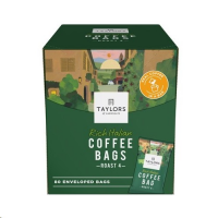 Taylors of Harrogate Rich Italian Coffee Bags Pack 80s (1 Units)