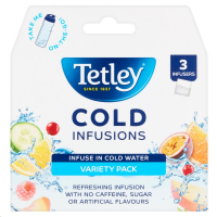 Tetley Cold Infusions Cold Brew 3 Variety Pack (1 Units)