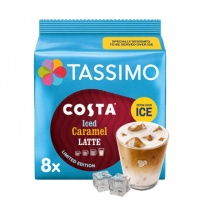 Tassimo Costa Iced Caramel Latte 8's (1 Units)